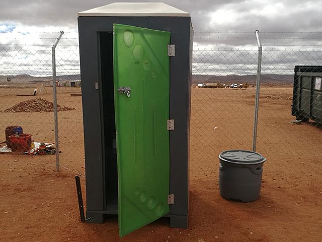 Portable Bathroom Solution : Dankocom upington the african tenure solutions pty ltd